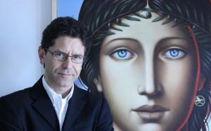 A Saluzzo in Casa Pellico l'artista Franco Giletta e il 'suo Leonardo'