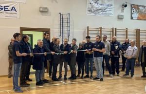 A due anni dall'alluvione, nuovo volto per il palazzetto dello sport del 'Baruffi' di Ceva