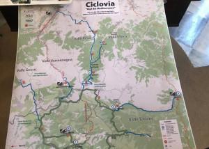 Le strade bianche delle Marittime in una sola rete: ecco il progetto per la Ciclovia delle Alpi del Mediterraneo (VIDEO)
