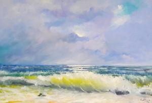 In Provincia la mostra di Enrico Portella 'Visioni di montagne e di mare'