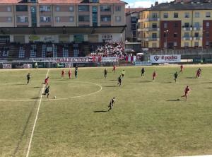 Sul campo il Cuneo stupisce ancora: battuta 2-0 la Virtus Entella