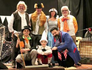 Villanova Mondovì: serata sold out per lo spettacolo 'In bocca…alla balena'