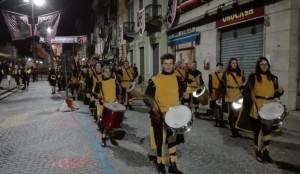 Sbandieratori e Musici di Cherasco allo storico carnevale di Ivrea