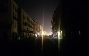 Black out in via Roma e nel centro storico di Cuneo
