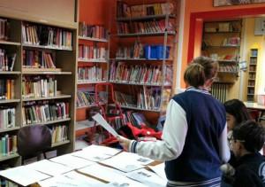 Personaggi fantastici per le letture in lingua inglese alla biblioteca di Roreto di Cherasco