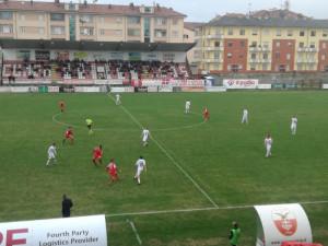 Calcio, Serie C: il Cuneo cade a Pistoia, Momentè mette k.o. i biancorossi