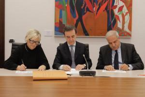 Firmato l'atto di fusione della Fondazione CR Bra in Fondazione Cassa di Risparmio di Cuneo