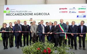Inaugurata la 38esima Fiera Nazionale della Meccanizzazione Agricola di Savigliano