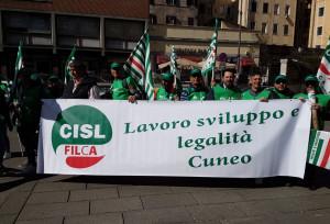 Da Cuneo a Roma in piazza del Popolo per dire 'sì' alle infrastrutture