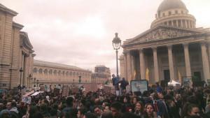 'Stamattina ho visto qualcosa di diverso dalle altre manifestazioni'