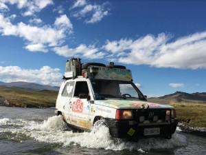 Da Cuneo alla Mongolia in Panda: i cuneesi Paolo Lusso e Lorenzo Dalmasso raccontano la loro avventura