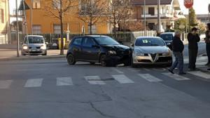 Incidente davanti alla scuola di San Chiaffredo di Busca