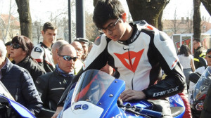 Motociclismo: il giovane buschese Alessandro Osenda esordisce in pista