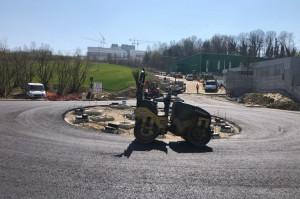 Verduno: domani riapre la strada provinciale 7 all'altezza della nuova rotatoria verso l'ospedale