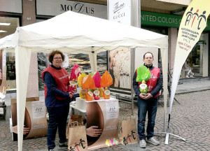 Uova di Pasqua dell'Ail di Cuneo in oltre 130 piazze della Granda