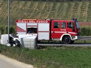 Incidente in frazione Tagliata di Fossano: strada chiusa