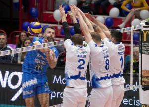 Pallavolo A2/M: Mondovì si conferma regina del Girone Bianco: 3-1 a Brescia