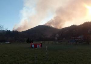 Incendi boschivi: permane lo stato di massima pericolosità