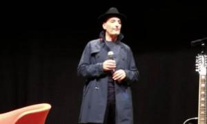 Pessina ha presentato il suo album 'Note come la vita' a teatro Civico