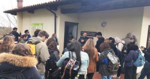 Lavori e visite nella Riserva Sorgenti del Belbo a Montezemolo