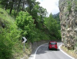 Sistemazione della curva in località Pessa a Stroppo, c'è il progetto definitivo