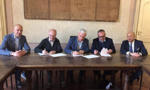 Firmata a Cherasco la convenzione per gli 'Orti in Condotta'