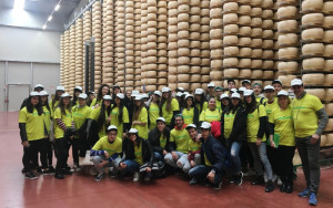 La Valgrana di Scarnafigi ha aperto le porte agli studenti dell'Istituto 'Ernesto Guala' di Bra