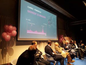 Cuneo (ri)vive la storia: presentata la Cuneo-Pinerolo (VIDEO)