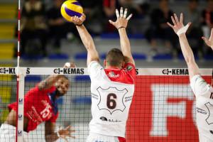 Pallavolo A2/M: un Cuneo battagliero perde 3 a 1 contro Santa Croce