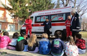 La Croce Rossa di Alba nelle scuole con il progetto 'Piccoli Soccorritori'