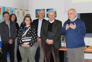Alba: inaugurata la rinnovata biblioteca della scuola media 'Macrino'