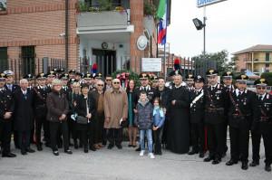 A Sommariva Bosco una cerimonia in memoria dei Carabinieri Giorgio Privitera e Alessandro Borlengo