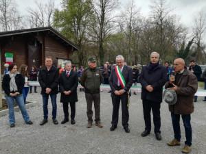 Inaugurata nuova area attrezzata per camper a Rocca de' Baldi (VIDEO)