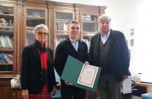 Limone Piemonte: ad Alberto Giovannini la borsa di studio 'Charlotte Alagna' per l'impegno nel sociale