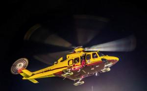 Confermato per questa sera il volo test dell'elisoccorso notturno a Valmala