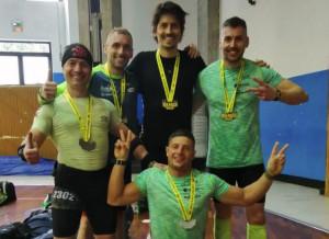 Il team di Tribù in Movimento alla qualificazione dei Campionati Mondiali OCR