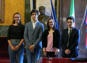 Viola Talini dell'Istituto 'De Amicis' di Cuneo vince il Premio Eloquenza 2019