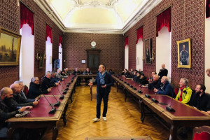 Geometri e futuri geometri di tutta Italia in visita a Cuneo