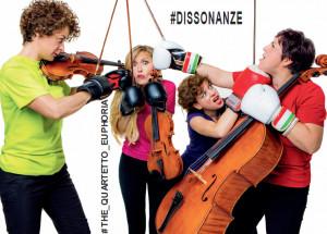 Venerdì 3 maggio a Busca il quartetto 'Euphoria' presenta 'Dissonanze'