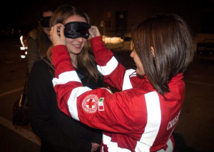 'Ne vale veramente la pena?': la Croce Rossa al Palà per prevenire le 'stragi del sabato sera'