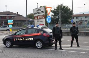 Un trio di 'staffette della droga' sopreso a Borgo San Dalmazzo con 8 chili di gangia