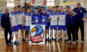 'Triplete' per il settore giovanile del Cuneo Volley