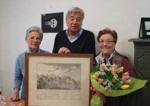 Limone Piemonte, una stampa della 'Battaglia di Roccavione' donata al Comune