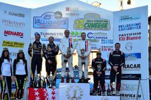 Motori: al Rally delle Valli Cuneesi terzo sigillo consecutivo per Gino e Ravera