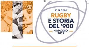 Sabato 4 maggio a Cuneo il 2° Trofeo 'Rugby e Storia del '900'