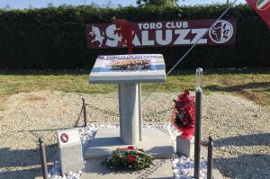 A Saluzzo inaugurato il cippo in memoria del 'Grande Torino'