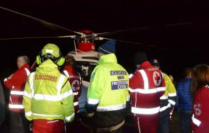Da ieri sera Valmala ha la pista d'atterraggio notturno dell'elisoccorso più alta del Piemonte
