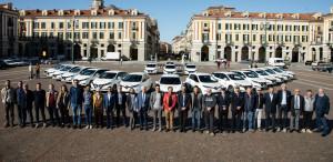 La Fondazione CRC ha donato auto elettriche a 17 Comuni cuneesi