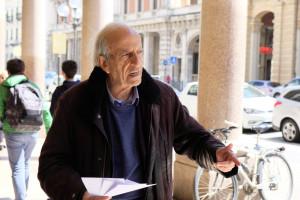 Continua il volantinaggio in vista della marcia per la Cuneo-Nizza