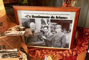 'C'è Hemingway da Arione': sono passati 65 anni